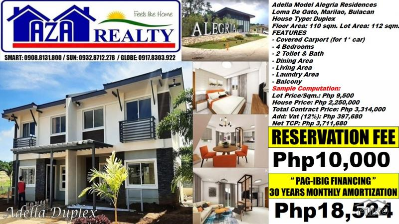 Picture of 4 bedroom House and Lot for sale in Marilao