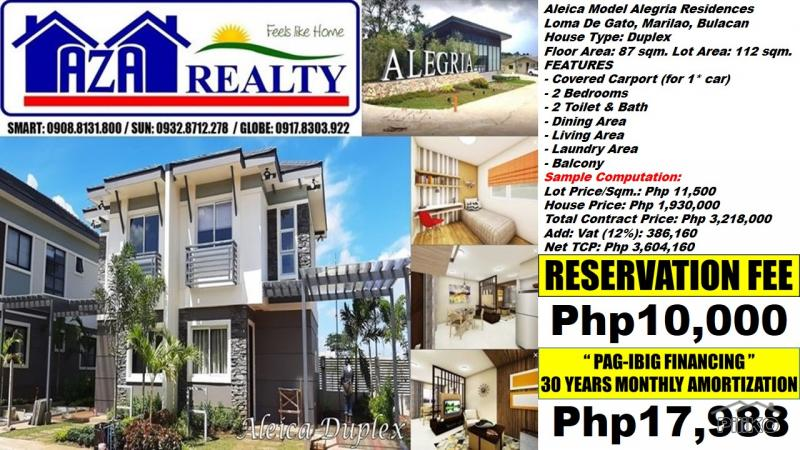 Picture of 2 bedroom House and Lot for sale in Marilao
